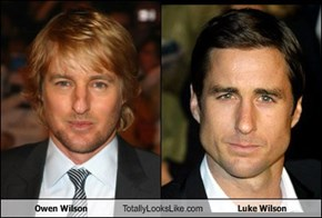 Owen Wilson Totally Looks Like Luke Wilson