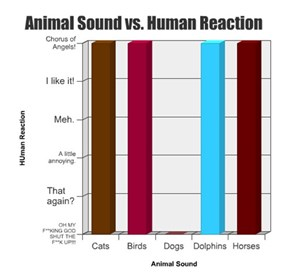 Animal Sound vs. Human Reaction