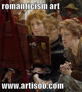 romanticism art  www.artisoo.com