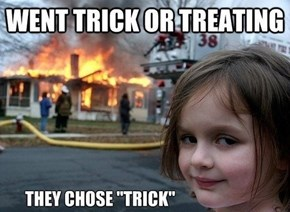 That Wasn't Candy in Her Trick or Treat Bag