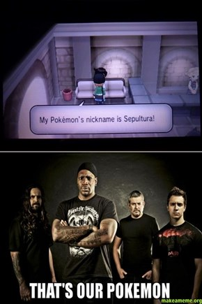 Sepultura Pokemon
