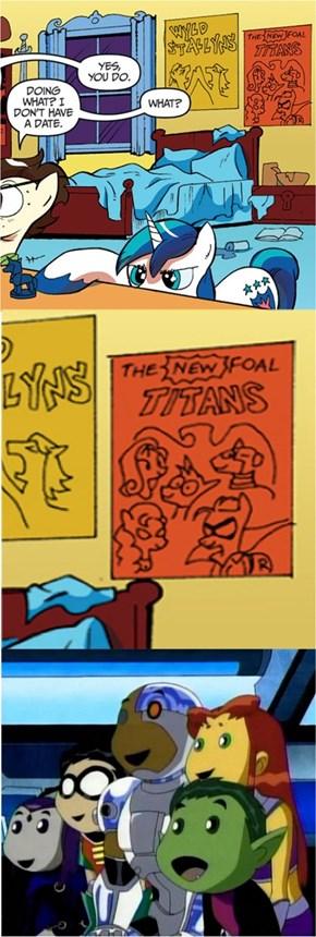 Foal Titans GO!