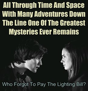 It Costs HOW MUCH To Light A TARDIS?!