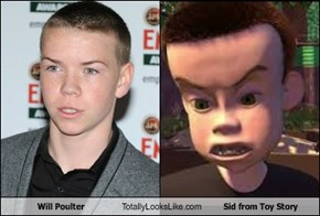 Will Poulter Totally Looks Like Sid from Toy Story
