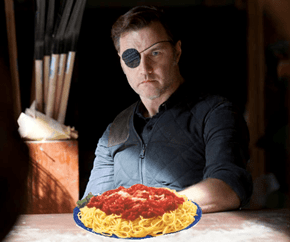 He's Here For Spaghetti Tuesday