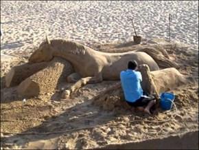 Sandsculpture Win