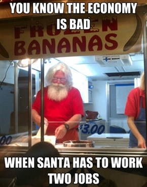 Thanks to Obama, Santa Has to Work Another Job