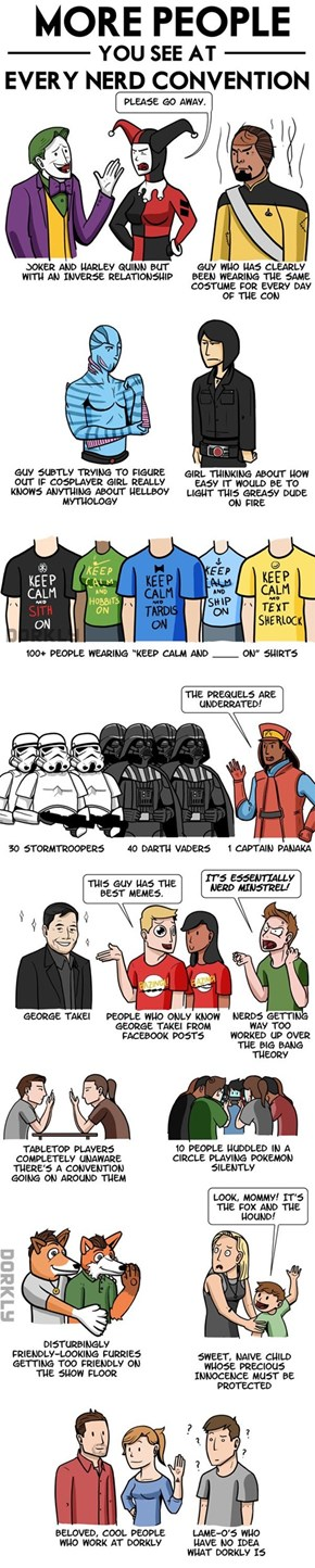 Dorkly: More people you see at every convention