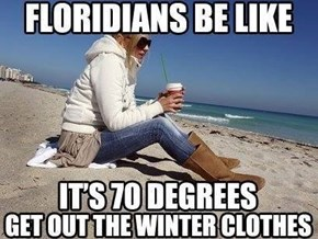 Florida Coat Weather