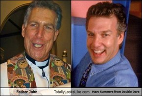 Father John Totally Looks Like Marc Summers from Double Dare