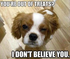 Always be Skeptical when it Comes to Treats