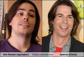 Arin Hanson Totally Looks Like Spencer