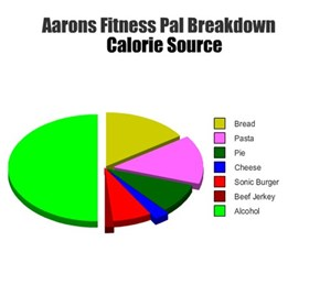 Aarons Fitness Pal Breakdown