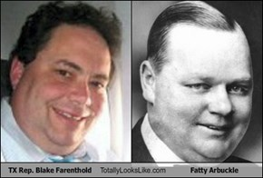 TX Rep. Blake Farenthold Totally Looks Like Fatty Arbuckle