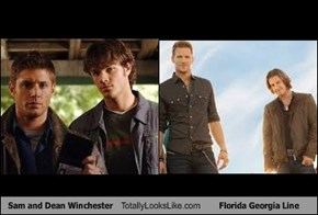 Sam and Dean Winchester Totally Looks Like Florida Georgia Line