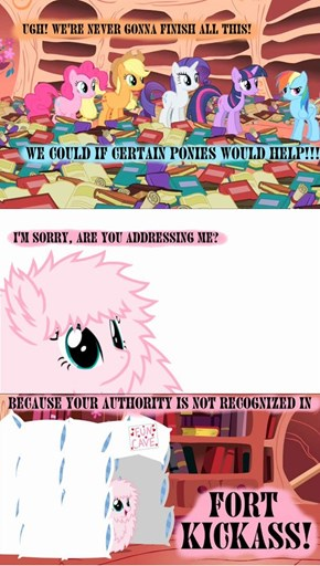 None May Command The Great Flufflepuff