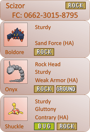 Scizor - Rock Friend Safari