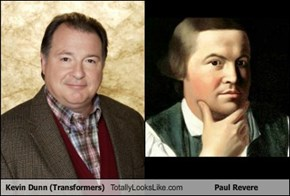 Kevin Dunn Totally Looks Like Paul Revere