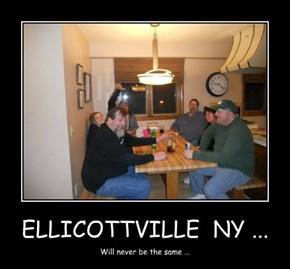 ELLICOTTVILLE  NY ...
