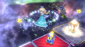 Rosalina is a Playable Character in Super Mario 3D World