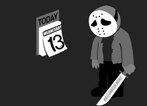 Wednesday the 13th.