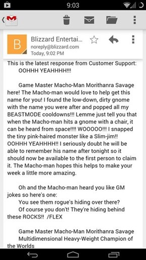Customer Support at its Finest