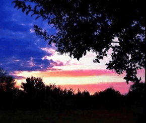 The Most American Sunset Ever