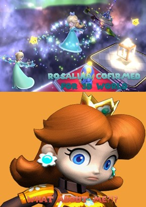 Nintendo Screws Daisy Out of a Golden Opportunity!