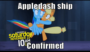 Appledash Officially Confirmed by Hasbro!