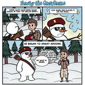 Frosty the Snowboone