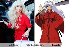 Lady Gaga Totally Looks Like Inuyasha