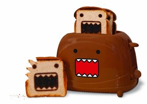This Adorable Domo Toaster Makes Perfect Domo Toast
