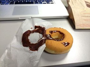 This is just Nature's way of telling you to eat plain donuts!