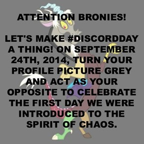 Discord Day... let's do this.
