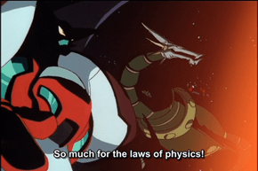 Super Robots summed up in one sentence