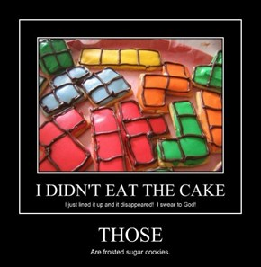 That Just Means TINY CAKES!