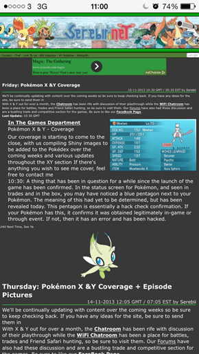 Serebii Confirms the Meaning of the Blue Pentagon
