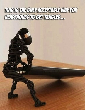 The Most Awesome Tangled Headphones Ever