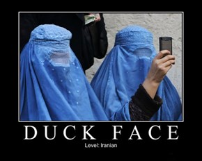 Some Serious Duckface
