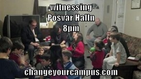 witnessing                                                       Posvar Halln                                                       8pm  changeyourcampus.com