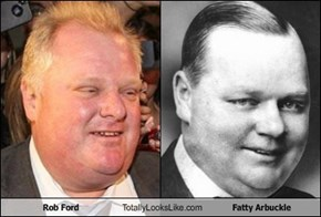 Rob Ford Totally Looks Like Fatty Arbuckle