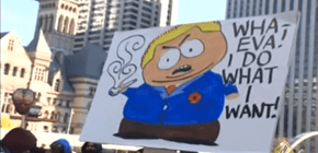 The Best Rob Ford Sign Ever