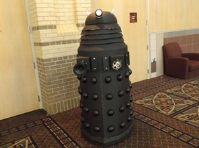 Incredible Dalek Cosplay!