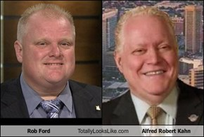 Rob Ford Totally Looks Like Alfred Robert Kahn