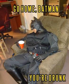 The Dark Knight Drinks