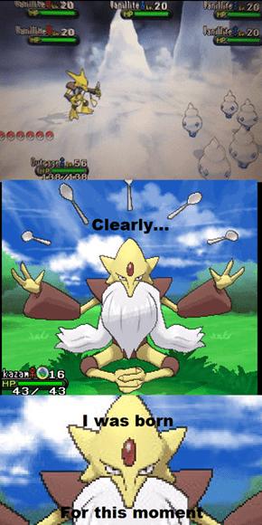 Mega Alakazam's Purpose