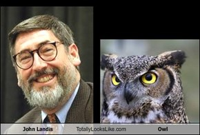 John Landis Totally Looks Like Owl