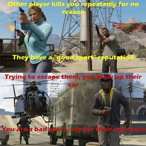 Grand Theft Auto Online Logic