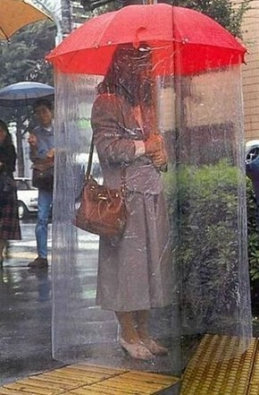 Now You Can Be Anti Social and Stay Dry!