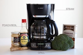 Use This NPR Chart to Cook Dinner in Your Coffee Maker